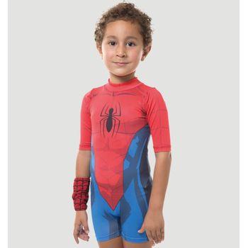 Macaquinho com Proteção Solar Homem Aranha