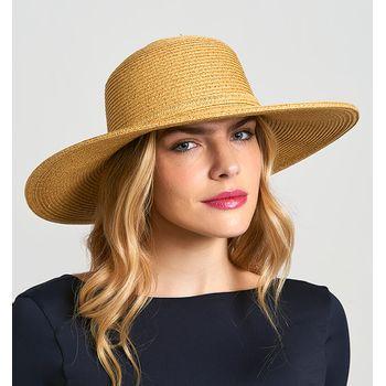 Jurerê Chapéu Com Proteção Solar UV.LINE Trigo
