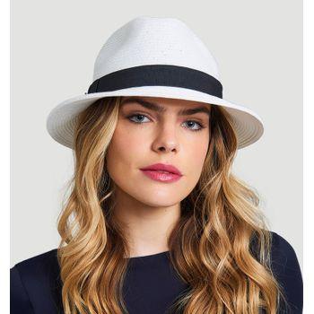 Chapéu UV com Proteção Solar Shanghai UV.LINE - Branco