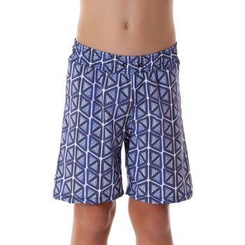 Shorts com Proteção Solar Acqua - Índigo