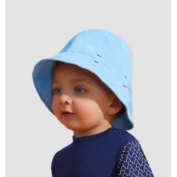 Chapéu UV com Proteção Solar Napoli Basic Kids - Azul