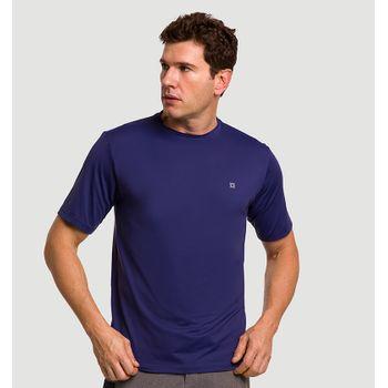 Camiseta com Proteção Solar Uvpro Masculina UV.LINE - Marinho