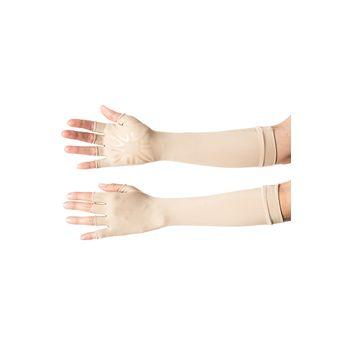 Luva Longa UV com Proteção Solar UV.LINE - Chocolate