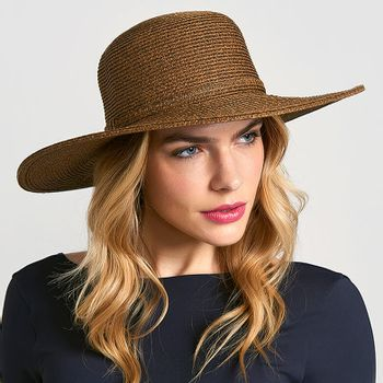 Jurerê Chapéu Com Proteção Sola UV.LINE Marrom