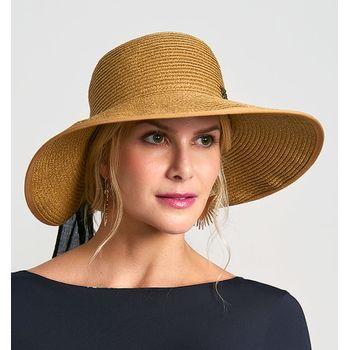 Chapéu Santorini com Proteção Solar UV.LINE - Trigo