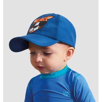 Boné Infantil com Proteção Solar Tigre UV.LINE