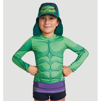 Camiseta com Proteção Solar Acqua UV.LINE - Hulk