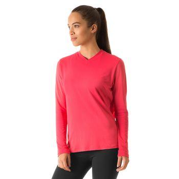 Camiseta com Proteção Solar Sport Fit Colors Femina UV.LINE - Melancia