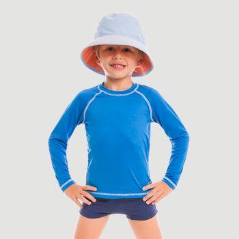 Chapéu UV Colors com Proteção Solar UV.LINE - Azul