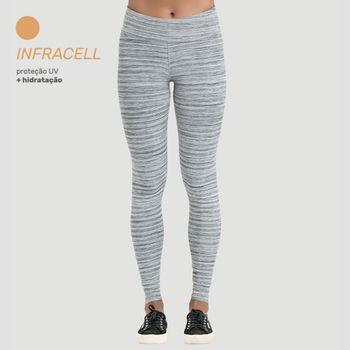 Calça Legging Infracell com Proteção Solar UV.LINE - Mescla