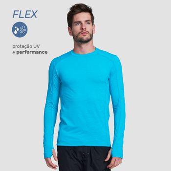 Camiseta com Proteção Solar Flex - Verde Menta