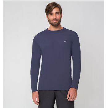 Camiseta UV com Proteção Solar Uvpro Masculina UV.LINE - Marinho