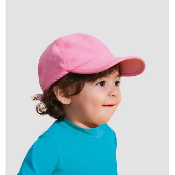 Boné Baby Colors com Proteção Solar UV.LINE Rosa