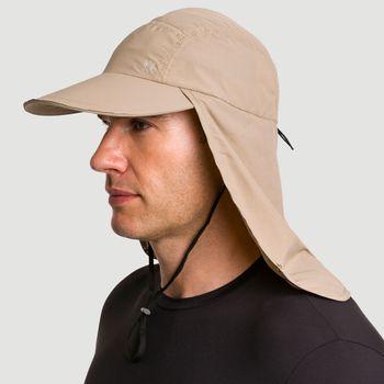 Boné Legionário UV com Proteção Solar GD UV.LINE - Kaki