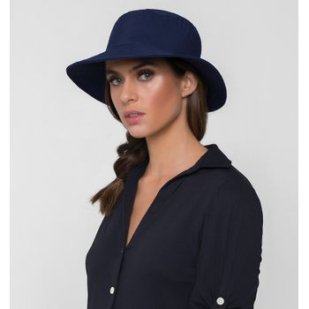Chapéu UV com Proteção Solar Califórnia  UV.LINE - Marinho
