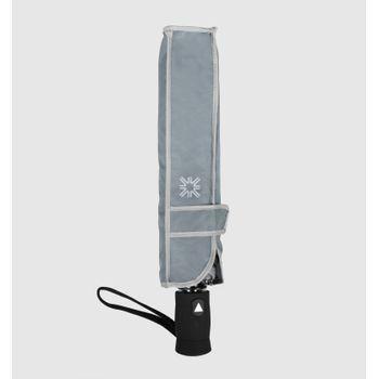 Sombrinha UV com Proteção Solar Auto Black UV.LINE - Cinza