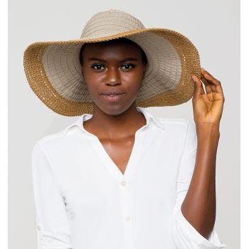 Chapéu UV com Proteção Solar Sardenha UV.LINE - Kaki