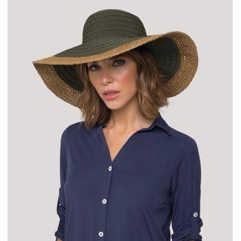Sardenha Chapéu Com Proteção Solar UV.LINE Musgo