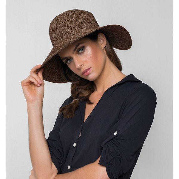 Chapéu UV com Proteção Solar Santorini UV.LINE - Marrom
