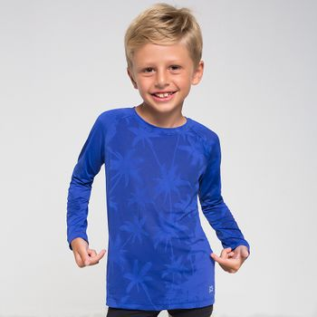 Camiseta UV com Proteção Solar Acqua Magic UV.LINE - Azul Royal