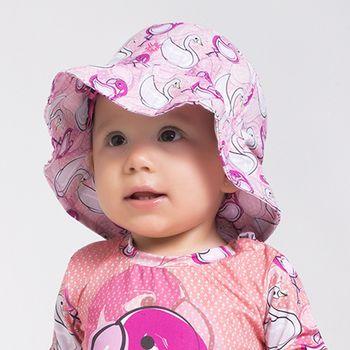 Chapéu UV com Proteção Solar Napoli Flamingo UV.LINE