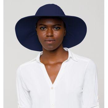 Chapéu UV com Proteção Solar Lyon UV.LINE - Marinho