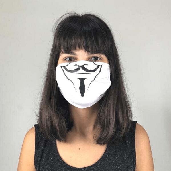 Máscara de Tecido para Proteção com Ajuste Vingança - UV.LINE