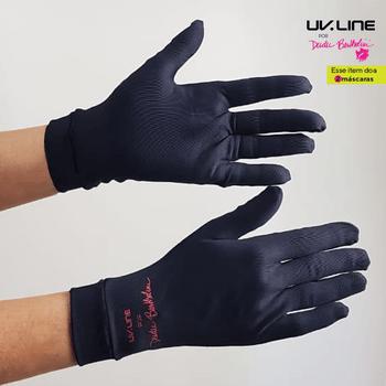 Luva para Proteção Dudu Bertholini UV.LINE - Preto