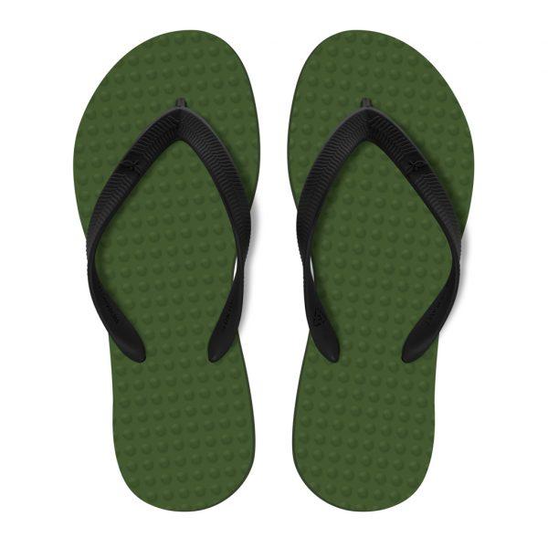 Chinelo Green Flip Flops Masculino - Verde Musgo