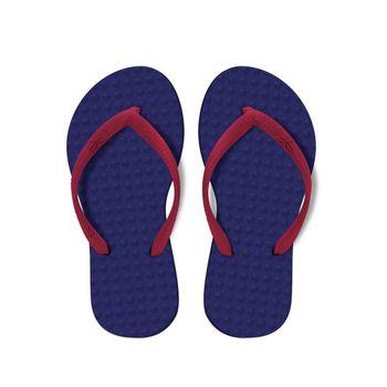 Chinelo Green Flip Flops Infantil - Roxo