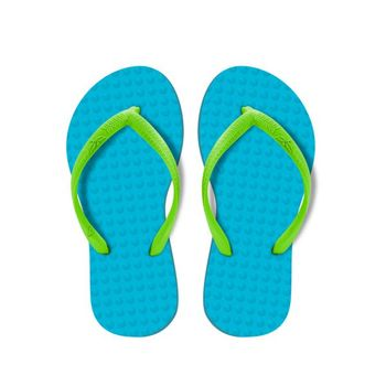 Chinelo Green Flip Flops Infantil - Turquesa