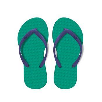 Chinelo Green Flip Flops Infantil - Esmeralda