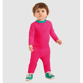 Macaquinho UV com Proteção Solar Baby UV.LINE - Pink