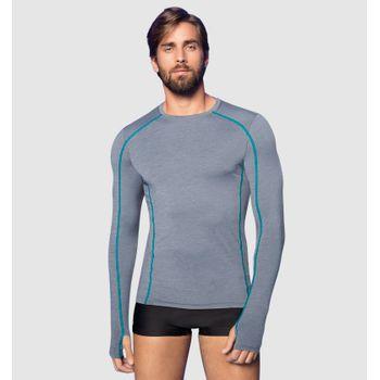 Camiseta com Proteção Solar UV.LINE - Flex - Mescla