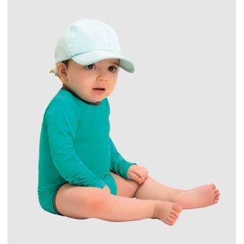 Body Baby com Proteção Solar UV.LINE Verde