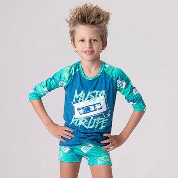 Camiseta Infantil UV com Proteção Solar Music UV.LINE
