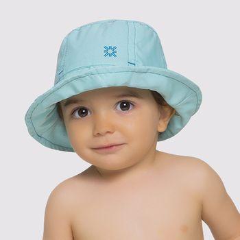 Napoli Chapéu  Baby com Proteção Solar UV.LINE Verde Água