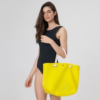 Bolsa Silicone UV.LINE - Amarelo