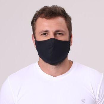 Máscara para Proteção Poliamida de Ajuste UV.LINE - Preto