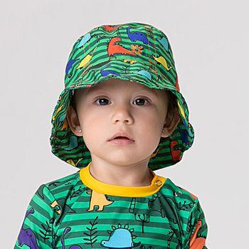Chapéu Baby com Proteção Solar UV Napoli Dino UV.LINE