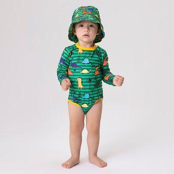 Maiô Baby com Proteção Solar UV Dino UV.LINE