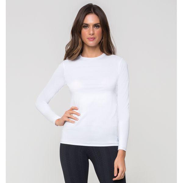 Camiseta Térmica com Proteção Solar UV.LINE Branco