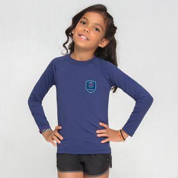Camiseta UV com Proteção Solar Paris Saint Germain UV.LINE - Marinho