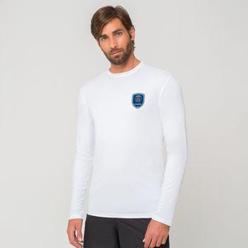 Camiseta com Proteção Solar UV Paris Saint Germain UV.LINE - Branco