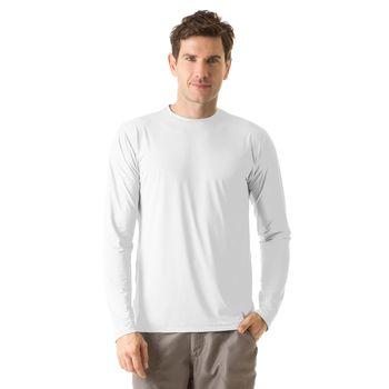 Camiseta com Proteção Solar UV UVPRO UV.LINE - Branco