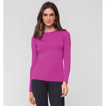 Camiseta com Proteção Solar UV UVPRO UV.LINE - Rosa Batom