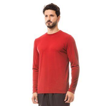 Camiseta com Proteção Solar UV UVPRO UV.LINE - Vermelho
