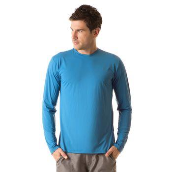 Camiseta com Proteção Solar UV UVPRO UV.LINE - Turquesa