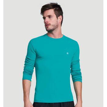 Camiseta com Proteção Solar UV UVPRO UV.LINE - Verde Mar
