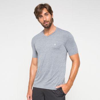 Camiseta com Proteção Solar Sport Fit Mescla UV.LINE - Mescla